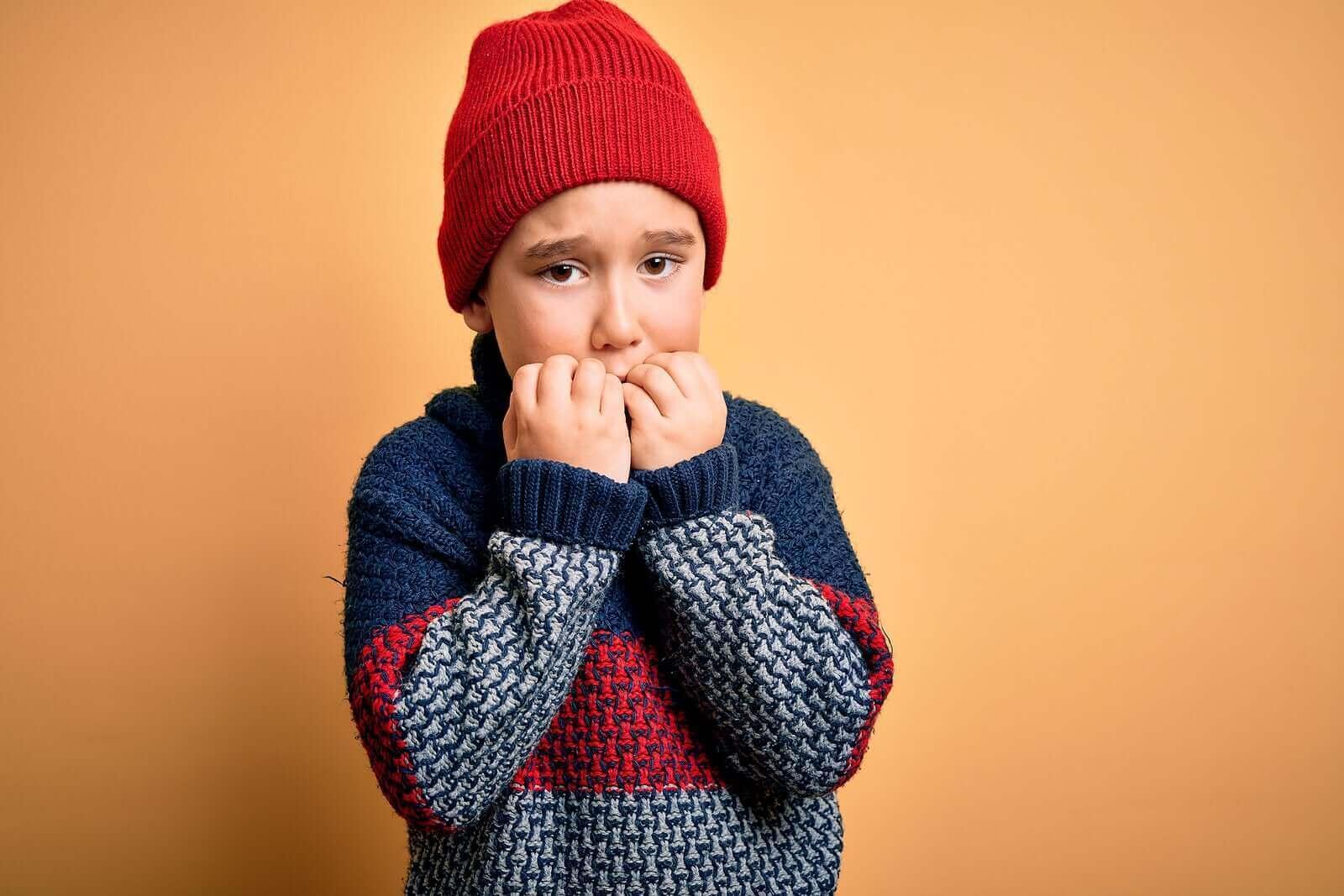 Çocuklarda fobiler ve fiziksel tepkiler