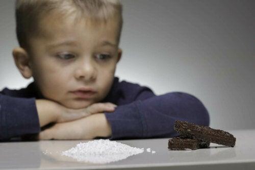 tatlandırıcılar, şeker, çocuklarda şeker tüketimi