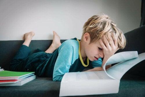 öğrenme güçlüğü, öğrenme zorlukları, stres bozukluğu