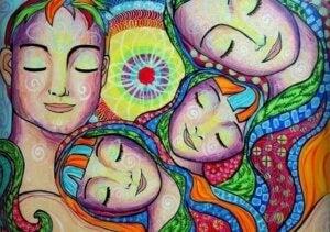 sarılma çocuğunuza sevgiyi