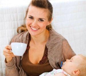 emzirme döneminde kafein
