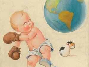 dünya ve bebek