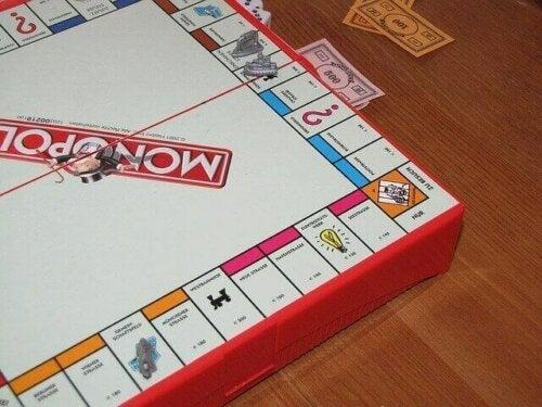 Monopoly oyunu.