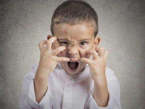Çocuklarda öfke hissi