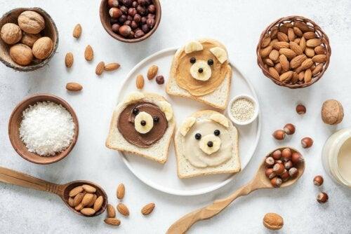 çocuklarda beslenme, kuruyemiş, kuruyemiş tüketimi