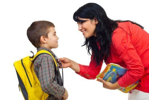 okul çantası hazırlama