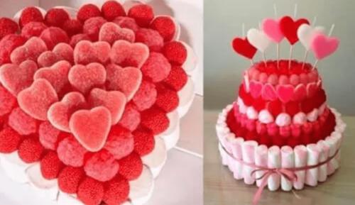 şekerden pasta