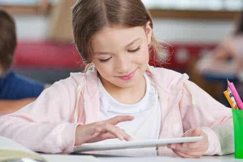 tablet eğitim çocuk